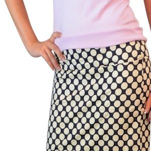 NWT- Banana Republic Polka Dots silk pencil skirt